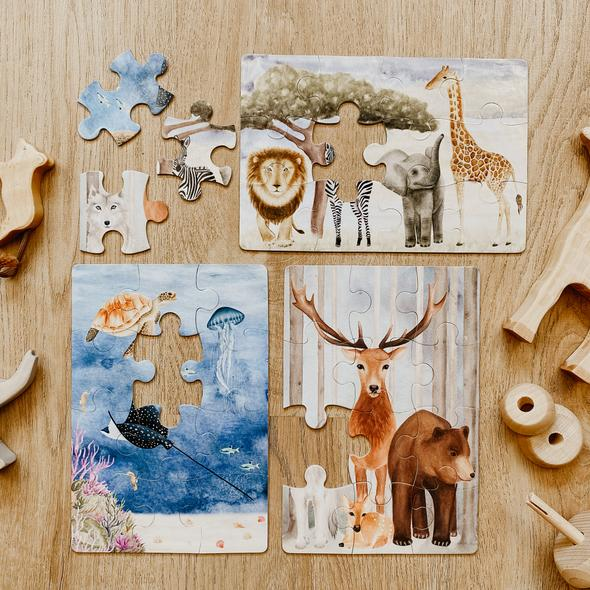 The Majestic Wild Puzzle Collection