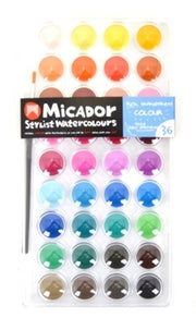 Micador Watercolour 36 Disk - Little Toy Tribe