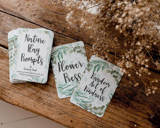 Nature Play Prompt Cards