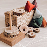 Rustic Round Stacker