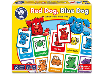 Orchard Game - Red Dog, Blue Dog Lotto Game