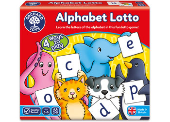 Alphabet lotto - orchard toys - Little TOy Tribe
