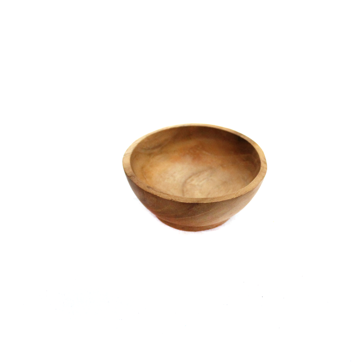 Papoose Small Wooden Bowl