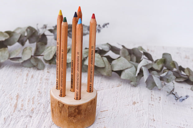 Pencil and Brush Holder - 6 Hole