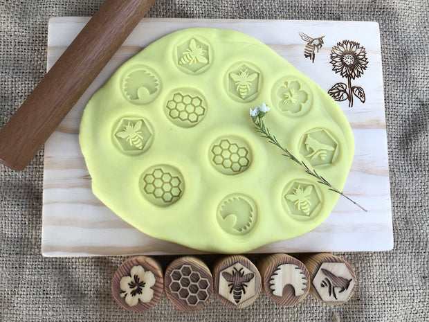 Wooden Playdough Board