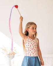 Sarah's Silks _ Mini Streamer Heart at Play _ Little Toy Tribe