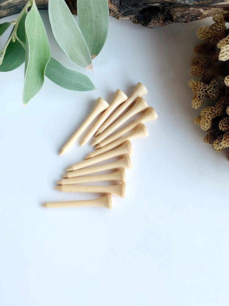 Wooden Nails for Playdough - Little Toy Tribe