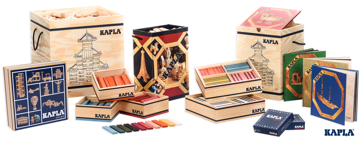 Kapla Book and Colours