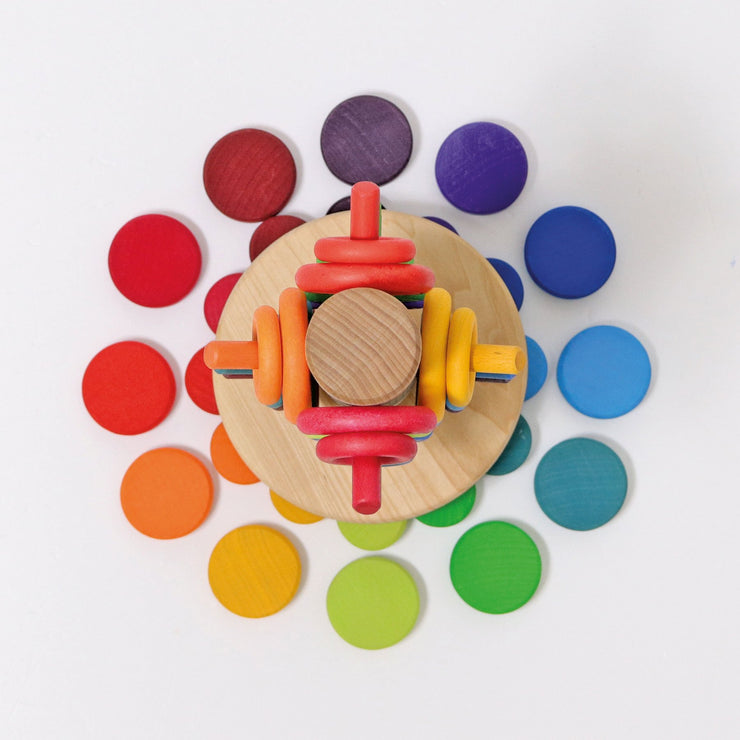 Grimm's Wooden Rainbow Coins - 2020 Collection