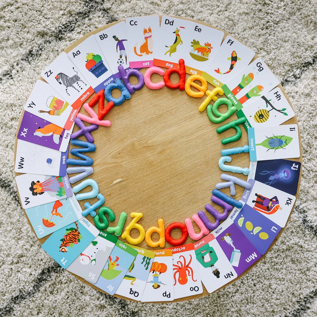 abc Lowercase Letters & Flashcards