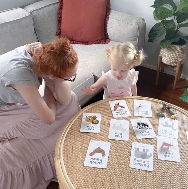 Animal Sound Flash Cards