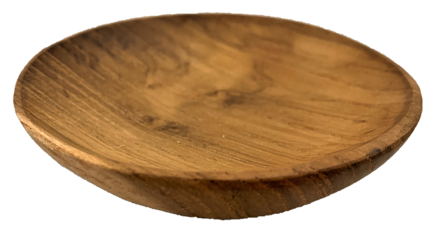 Papoose Wooden Round Plate