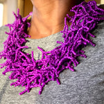 Nuna Purple Beaded Necklace