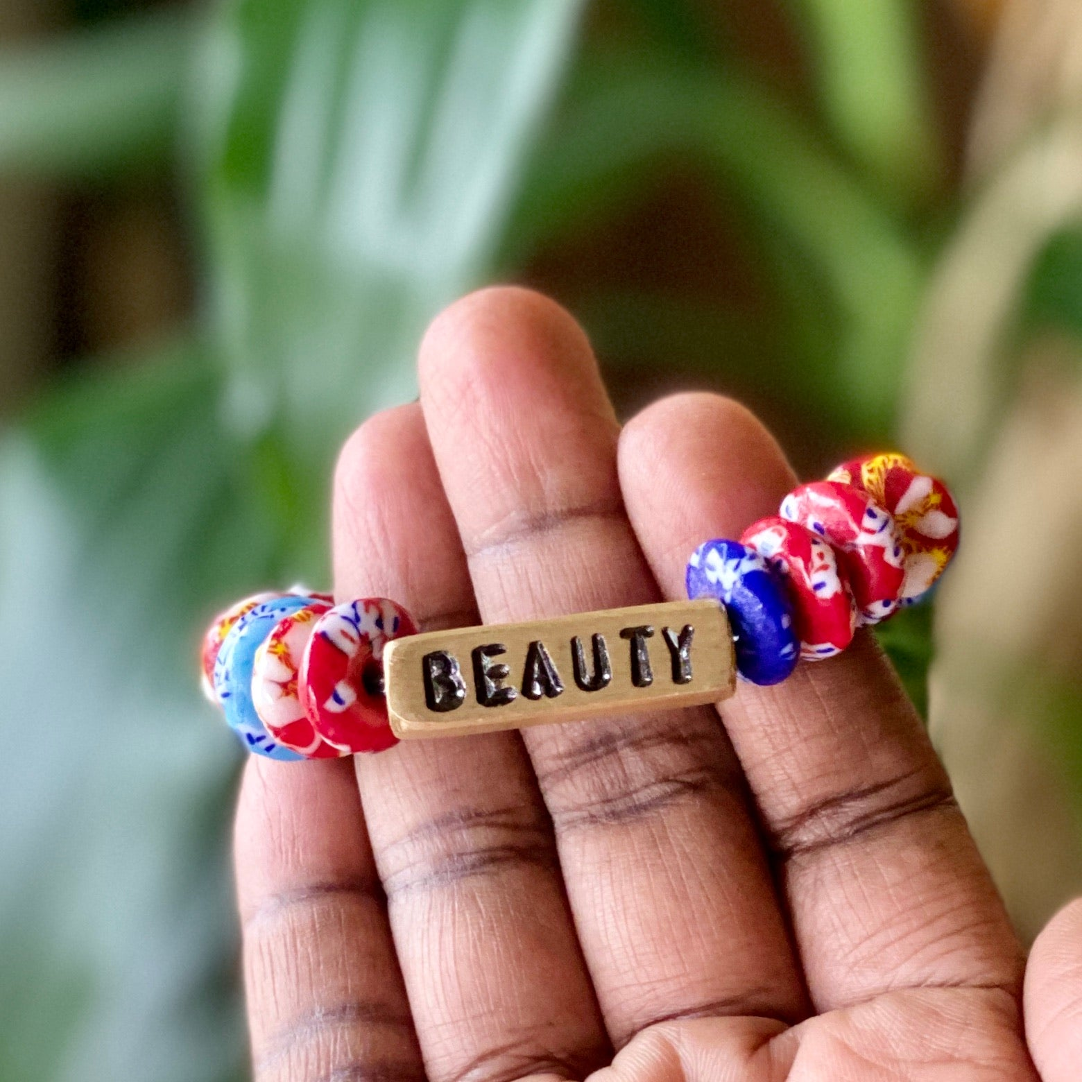 Word Bracelet- BEAUTY