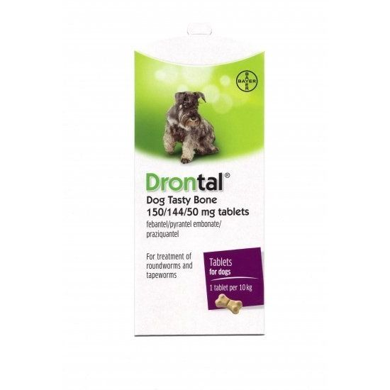 Drontal Tasty Bone Shaped Tablet