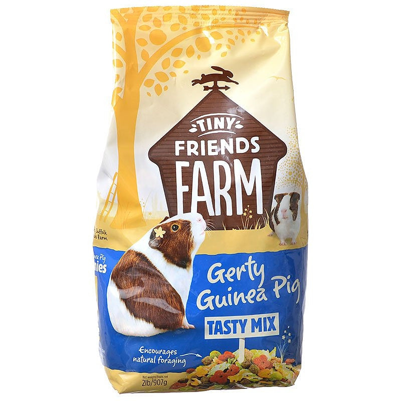Supreme Tiny Friends Farm Gerty Guinea Pig Tasty Mix