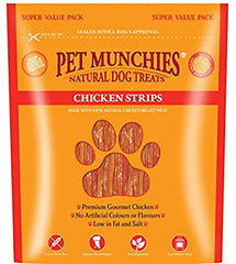 Pet Munchies Chicken Strips Dog Treats