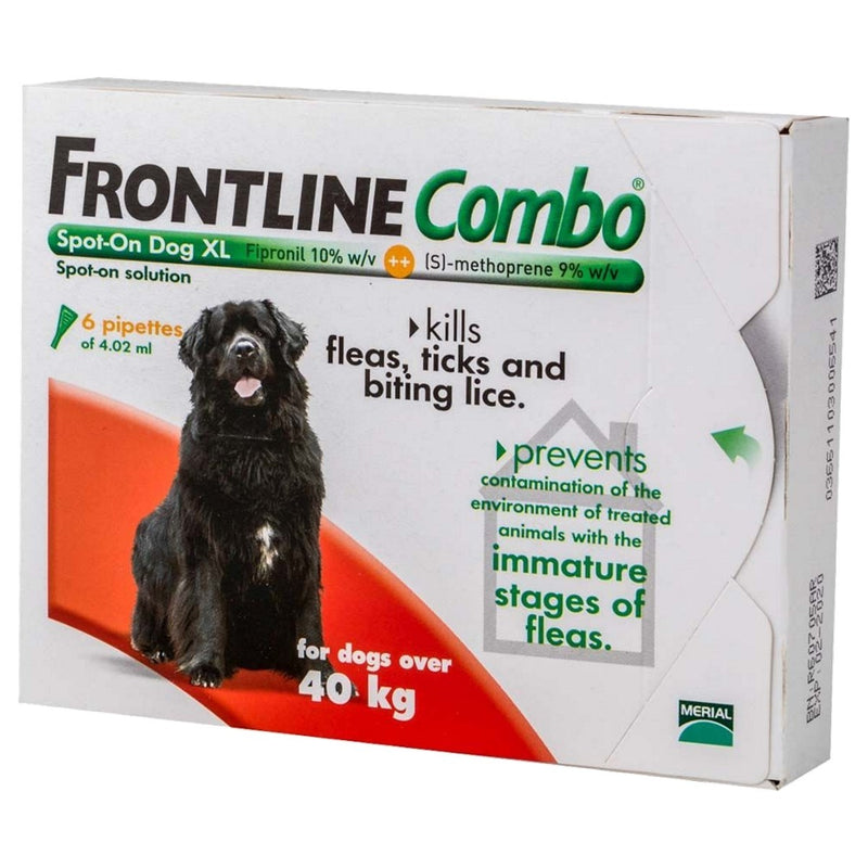 Frontline Combo Spot On X-Large Dog >40kg