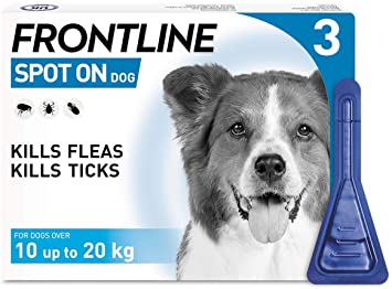 Frontline Spot On Medium Dog (10kg-20kg)