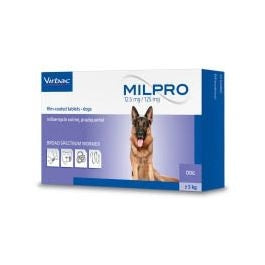 Milpro Dog Worming Tablet