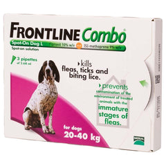 Frontline Combo Spot On Large Dog 20-40kg