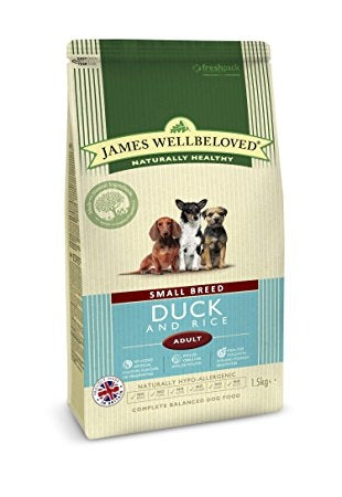 James Wellbeloved Small Breed Dog Duck and Rice