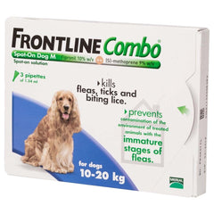 Frontline Combo Spot On Medium Dog 10-20kg