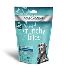 Arden Grange Crunchy Bites Dog Treats Light Chicken