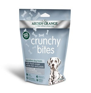 Arden Grange Crunchy Bites Dog Treat Sensitive