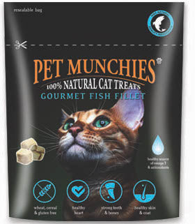 Pet Munchies Fish Cat Treats 10g