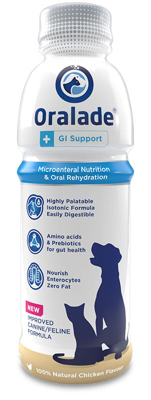 Oralade GI Support Liquid for Dogs & Cats 500ml