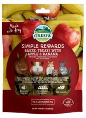 Oxbow Simple Reward Treat Apple & Banana 60g