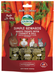 Oxbow Simple Reward Treat Carrot & Dill 60g