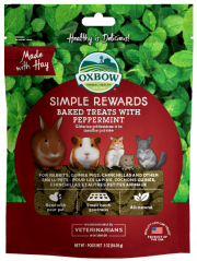 Oxbow Simple Reward Treat Peppermint 60g