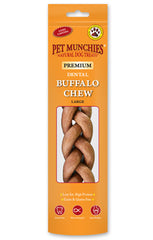 Pet Munchies Buffalo Dental Chews