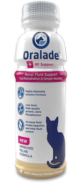 Oralade RF Support Liquid for Cats 330ml