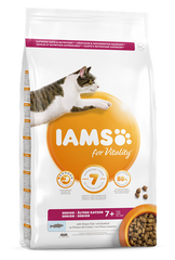 Iams for Vitality Senior Cat Food with Ocean Fish