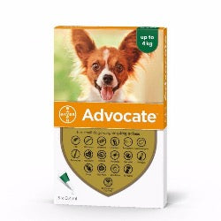 Advocate 40 Small Dog (<4kg)