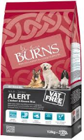 Burns Alert Dog Chicken