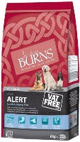 Burns Alert Dog Lamb
