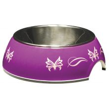 Catit 2 in 1 Cat Dish Butterfly Pattern