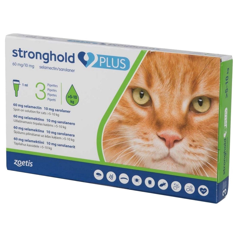 Stronghold Plus Large Cat >5kg-10kg