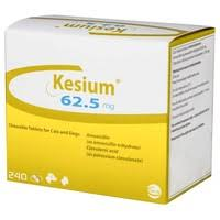 Kesium Tablets for Dogs & Cats 62.5mg