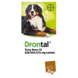 Drontal XL Tasty Bone Tablet