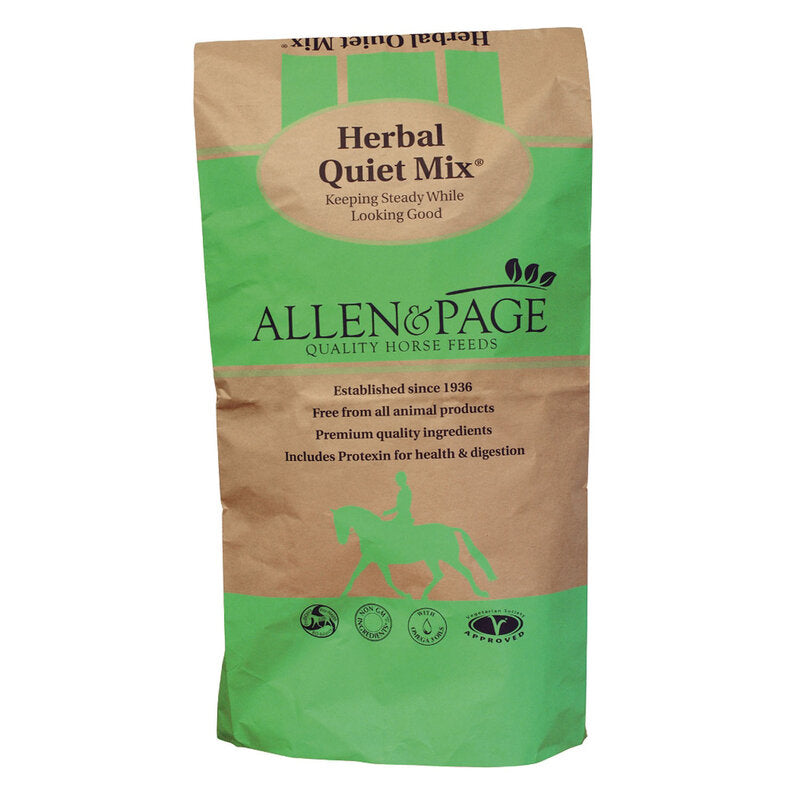 Allen & Page Herbal Quiet Mix 20kg