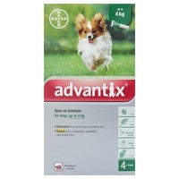 Advantix 40 Small Dog <4kg