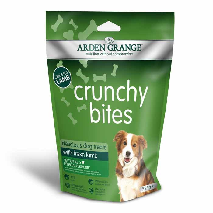 Arden Grange Crunchy Bites Dog Treat Lamb
