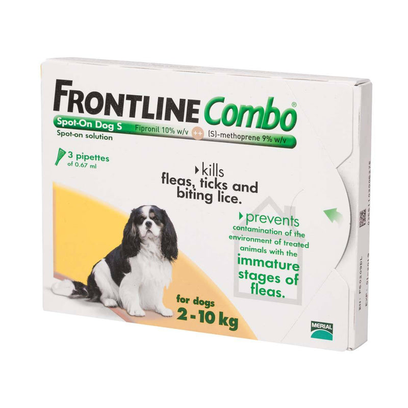 Frontline Combo Spot On Small Dog 2-10kg