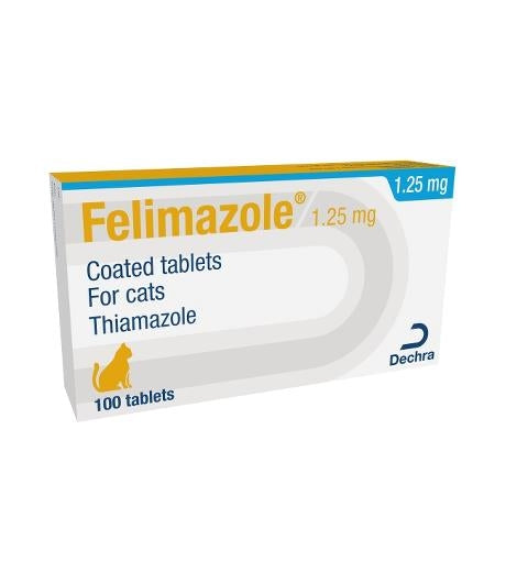 Felimazole Tablets for Cats