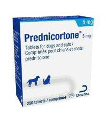 Prednicortone Tablets for Dogs and Cats 5mg